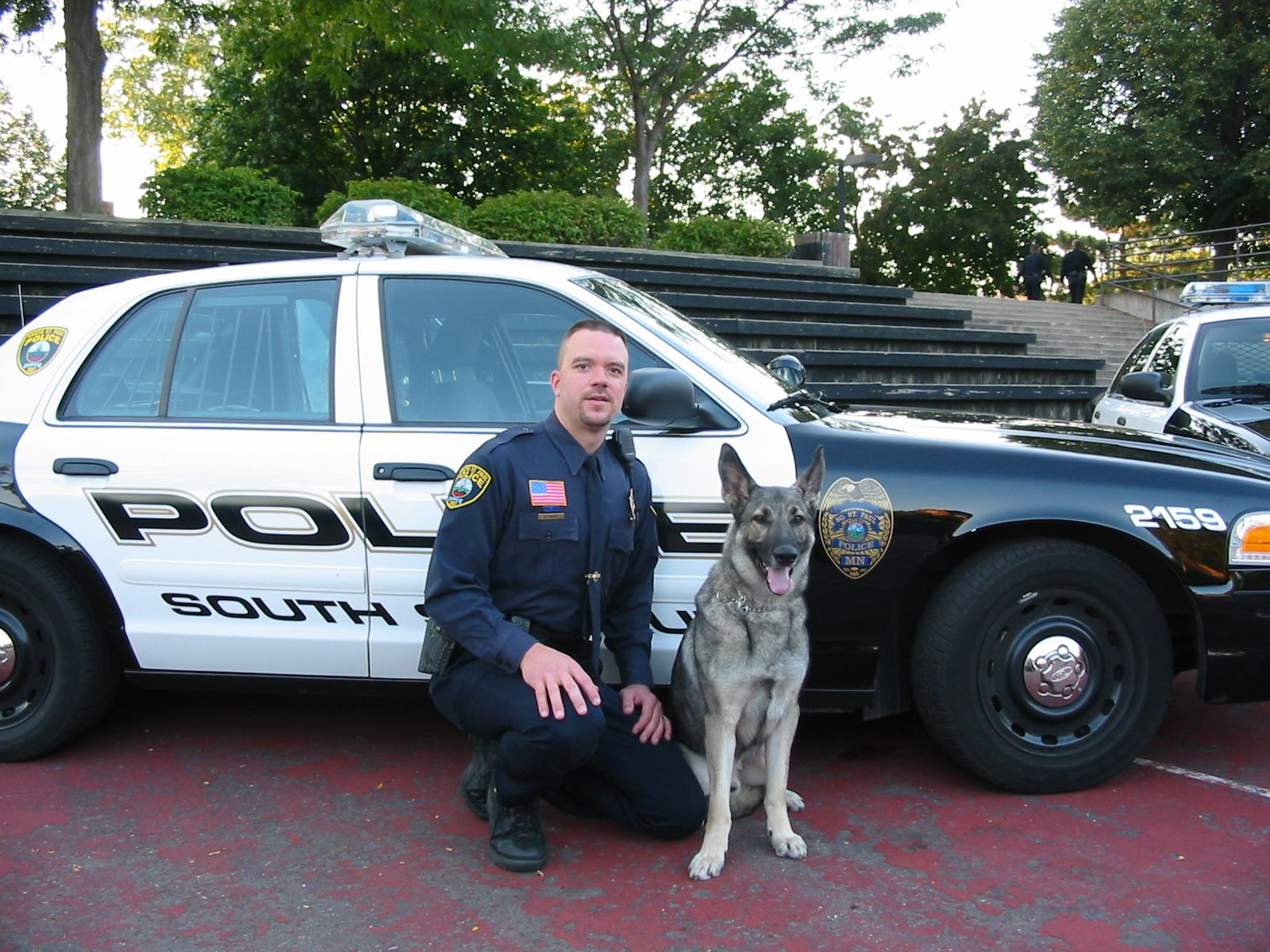 Officer Wicke and Rocky September 23, 2004
