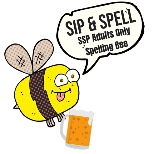 Sip and Spell Bee