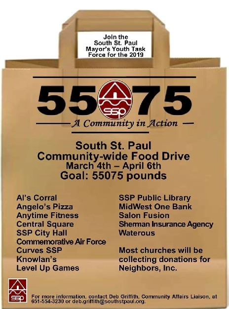 Image of Community Food Drive 2019 Drop Off Sites