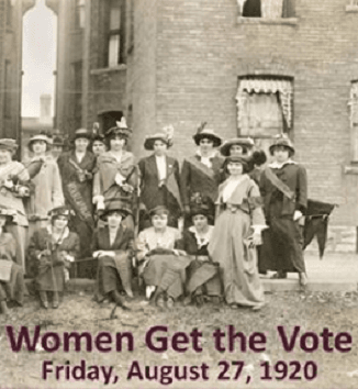 Image of a picture of the Women Get The Vote