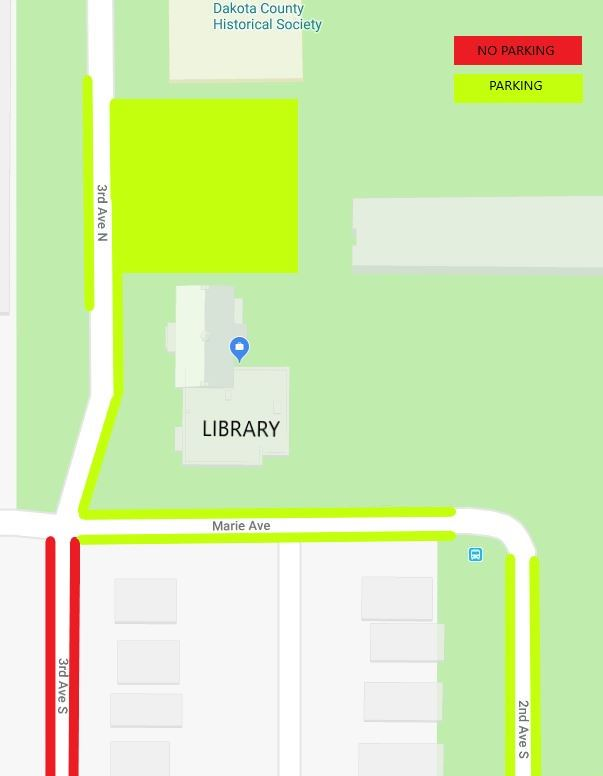 Summer 2018 library parking
