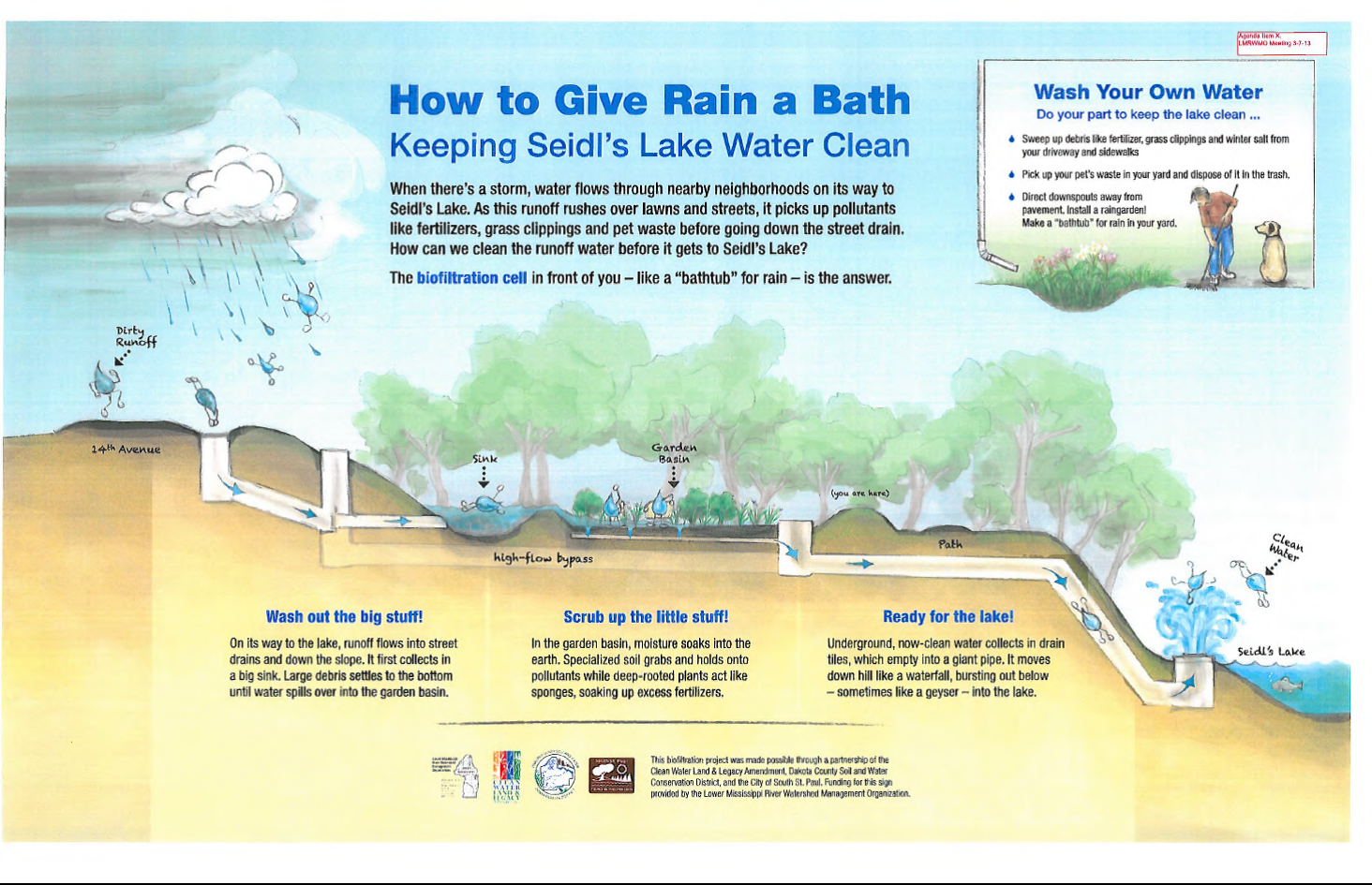 How to Give Rain a Bath - Seidles Lake