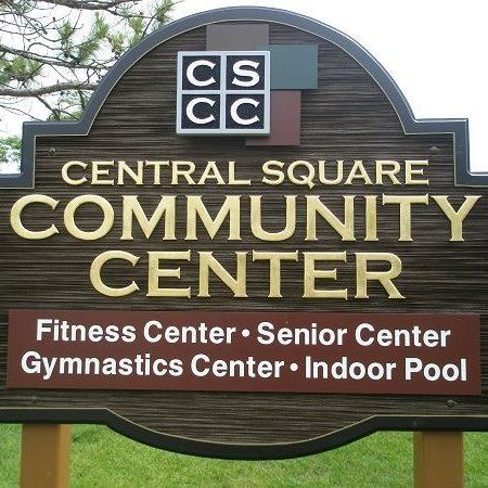 Image of the Central Square Community Center Sign
